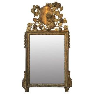 18th C. French Gilt Mirror