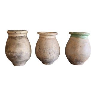 Small Biot Jars from France