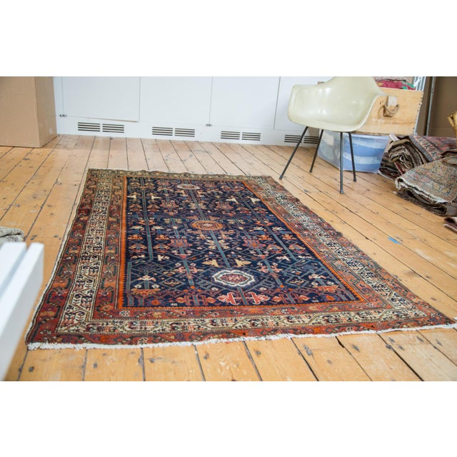"""Colorful Antique Malayer Rug - 4'2"""" X 6'6"""" - Image 2 of 10"""