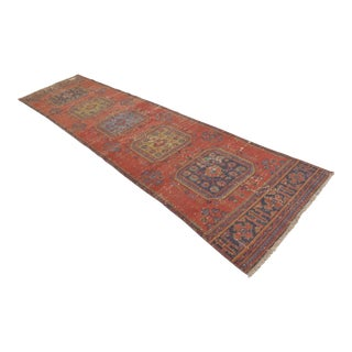 "Distressed Oushak Rug Runner - 2'11"" x 11'11"""