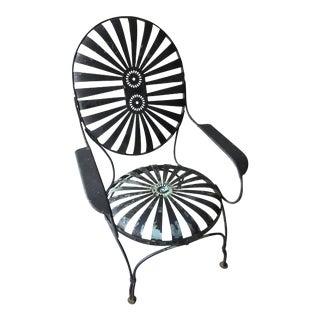 Carre Double Sunburst Garden Chair
