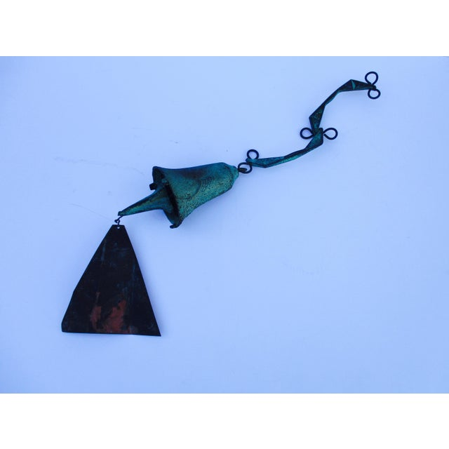 Paolo Soleri Modernist Bronze Wind Bell - Image 2 of 11