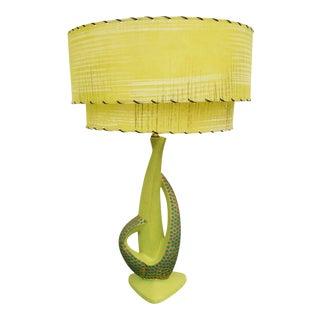 Mid-Century Modern Plasto Table Lamp