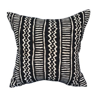 African Vintage Mali Mud Cloth Pillow