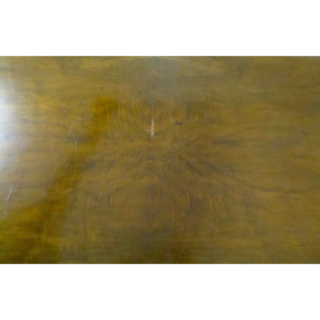 Expandable Walnut Library Table - Image 8 of 8