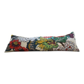 Schumacher Chiang Mai Dragon Bolster Pillow