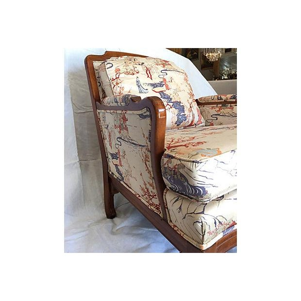 Vintage Chinoiserie Ming Style Wooden Chair - Image 3 of 7