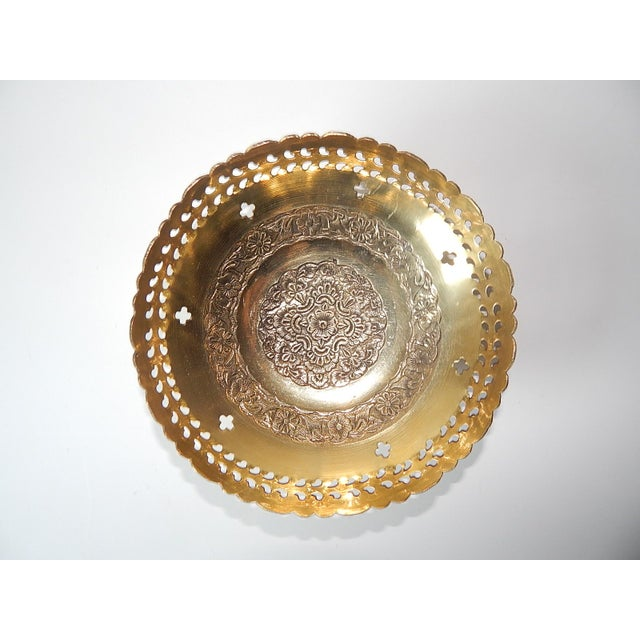 Ambika Brass Bowls - Set of 4 - Image 7 of 8