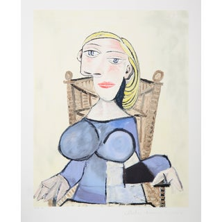 Pablo Picasso, Femme Blonde, Lithograph