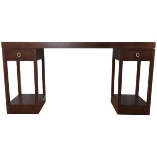 Mahogany Console Table by Johan Tapp for Gump's