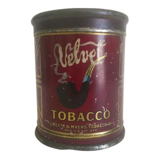 """Velvet Ligget & Myers Co."" Tobacco Tin"