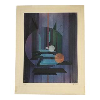 Vintage Bernard Jardel Lithograph