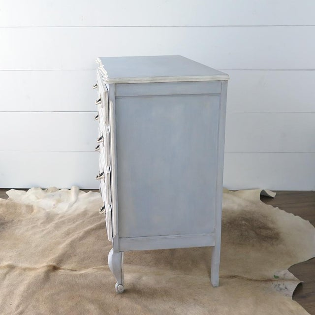 French Blue Commode - Image 9 of 11