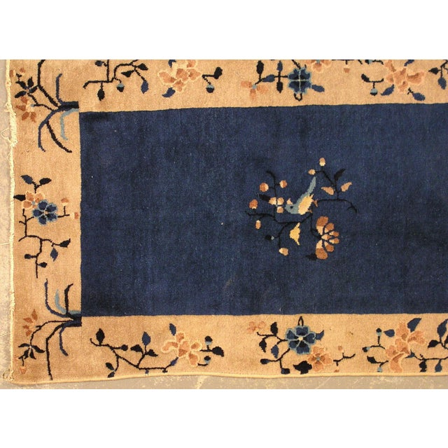1900s Hand Made Antique Peking Chinese Rug - 3' X 5' - Image 5 of 9
