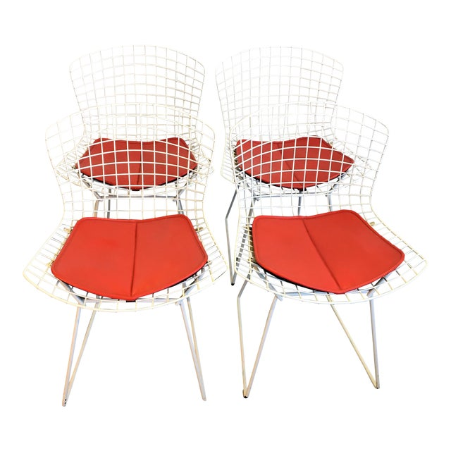 Harry Bertoia for Knoll Chairs - Set of 4 - Image 1 of 6