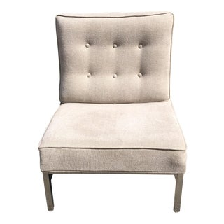 Modern Upholstered Armless Chair