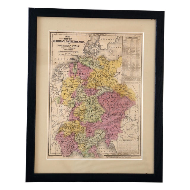 Antique Map of Northern Europe - Image 1 of 3