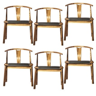 Leather Dining Chair, Set of 6