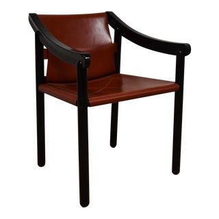 Modern Black and Red Occasional Chair
