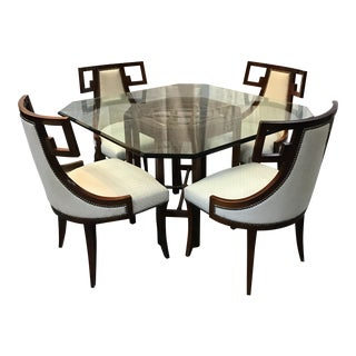 Baker Chinoiserie Dining Set