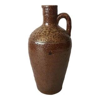 Brown Ceramic Southwestern Jug