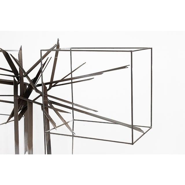 Curtis C Jere Chrome Burst Brutalist Sculpture - Image 5 of 10