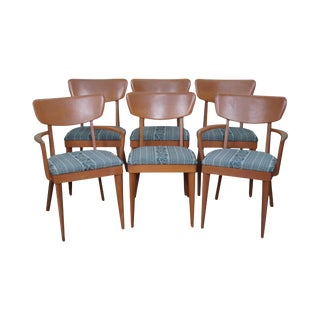 Heywood Wakefield Mid-Century Dining Chairs - Set of 6