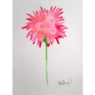 """Sparkling Bloom"" Original Watercolor Painting"