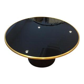 Nate Berkus Modern Black & Gold Coffee Table