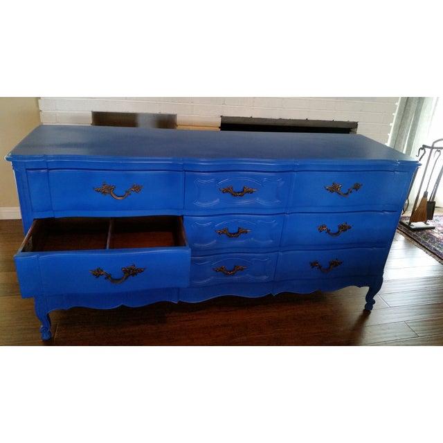 Blue Vintage Bethlehem Furniture Corp. Dresser - Image 3 of 5