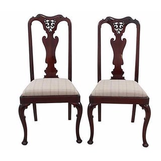 Queen Anne-Style Chairs - A Pair