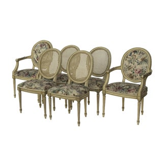 Kindel Louis XVI Style Dining Chairs- Set of 6