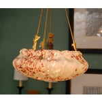 Image of European Glass Bowl Pendant Fixture