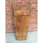 Image of Rustic European Washboard