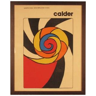 Alexander Calder Le Turban 400 Edition Serigraph