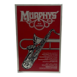 Murphy's Ale House Concert Series Poster