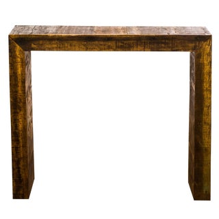 Reclaimed Solid Wood Bar Table