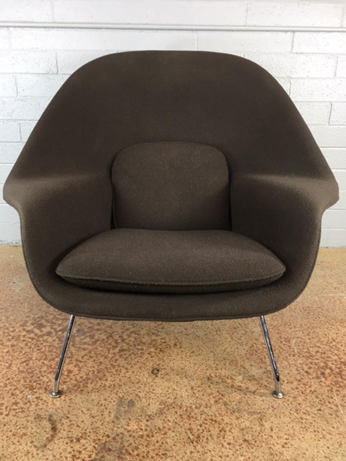 Eero Saarinen Womb Chair by Knoll Two Available Chairish