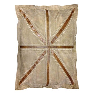Large Rectangular Pillow with British Flag Design