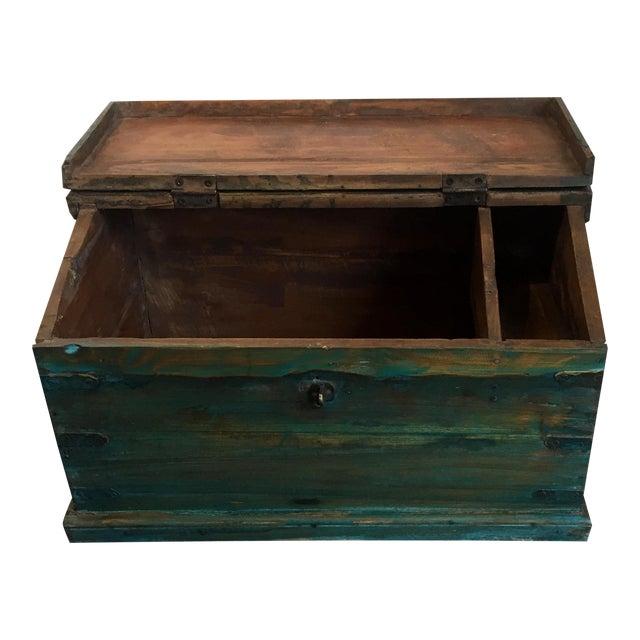 Antique Child's School Desk Box - Image 1 of 7