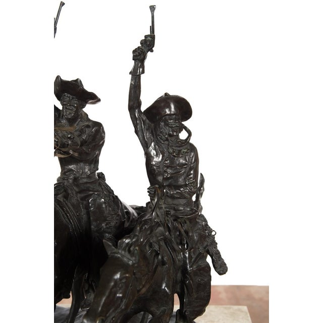 """F. Remington """"Coming Through the Rye"""" Bronze Sculpture - Image 5 of 11"""