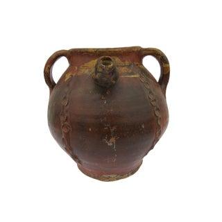 Antique French Perigordian Terracotta Vessel