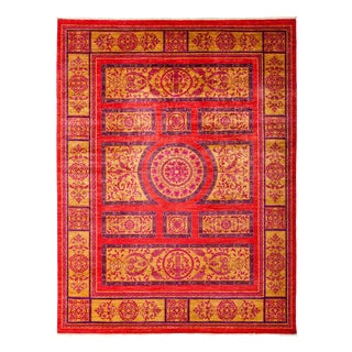 """Suzani Hand Knotted Area Rug - 9' X 11'10"""""""