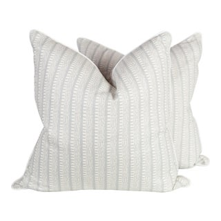 Custom Veere Grenen Linen Kiosk Pillows - A Pair