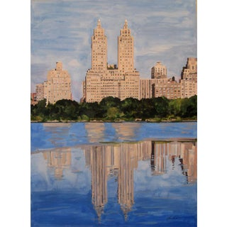 """""""Morning at the Reservoir"""" Giclee Print of the Painting"""
