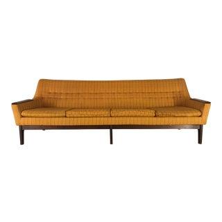 Danish Modern Walnut Sofa