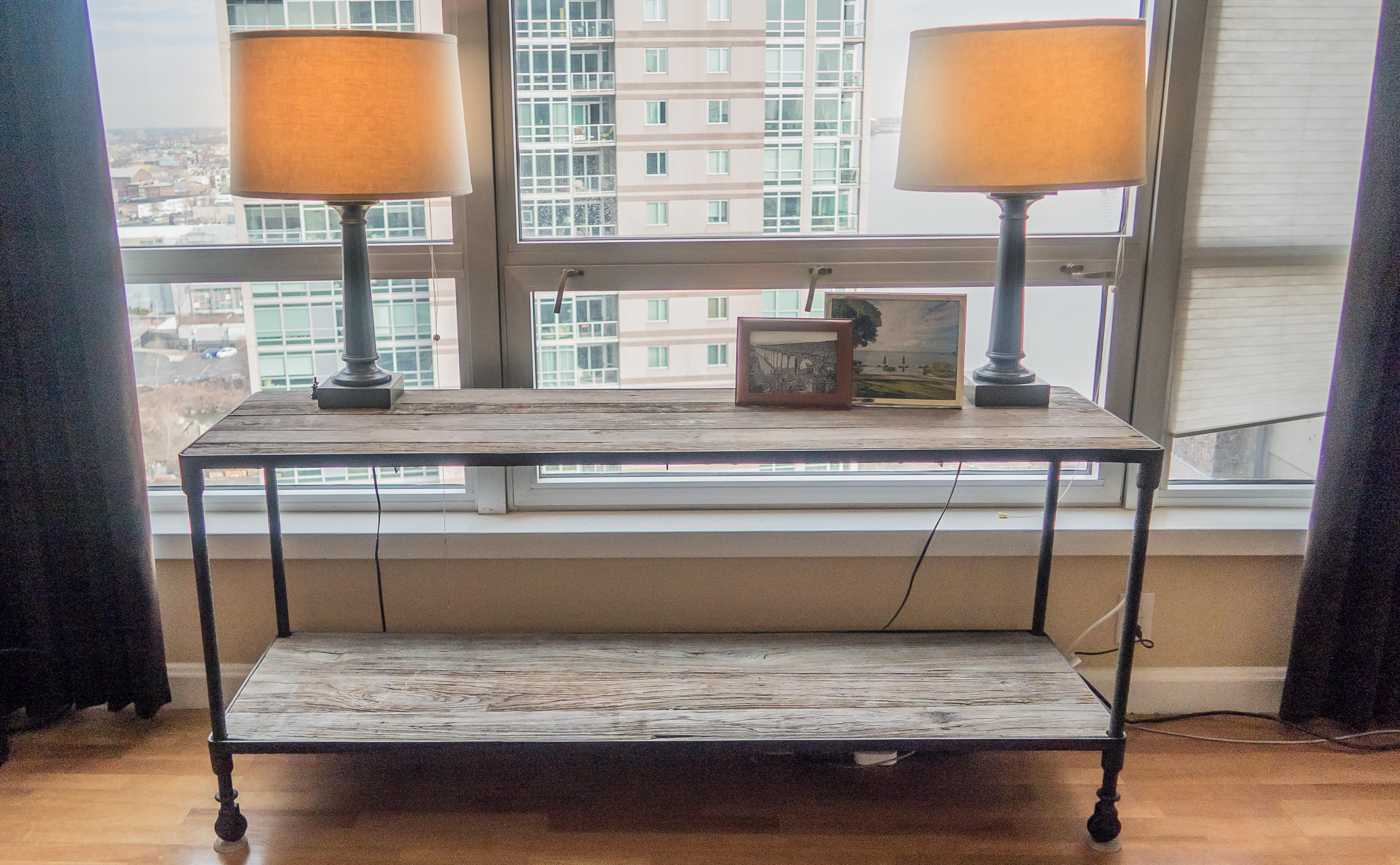Restoration Hardware Dutch Industrial Console Table   Image 3 Of 5