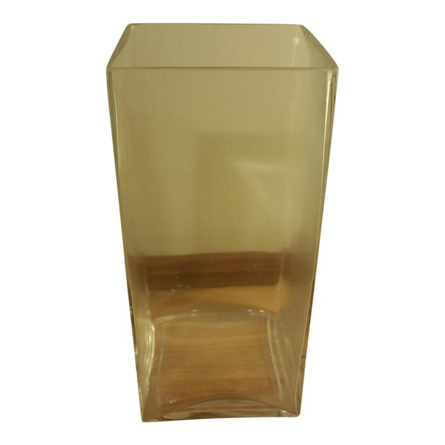 Rectangular Glass Vase - Image 1 of 5