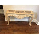 Image of Thomasville French Country Design Sofa Table