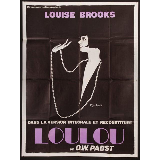 "Vintage ""Pandora's Box"" French Film Poster - Image 2 of 2"